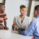 부모-교사 협의회 시간!  선생님과 대화하기
