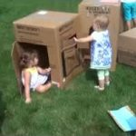 "Toddlers and Boxes: ""Hi! Hi!"