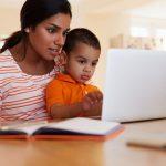 Los medios electrónicos y los niños pequeños