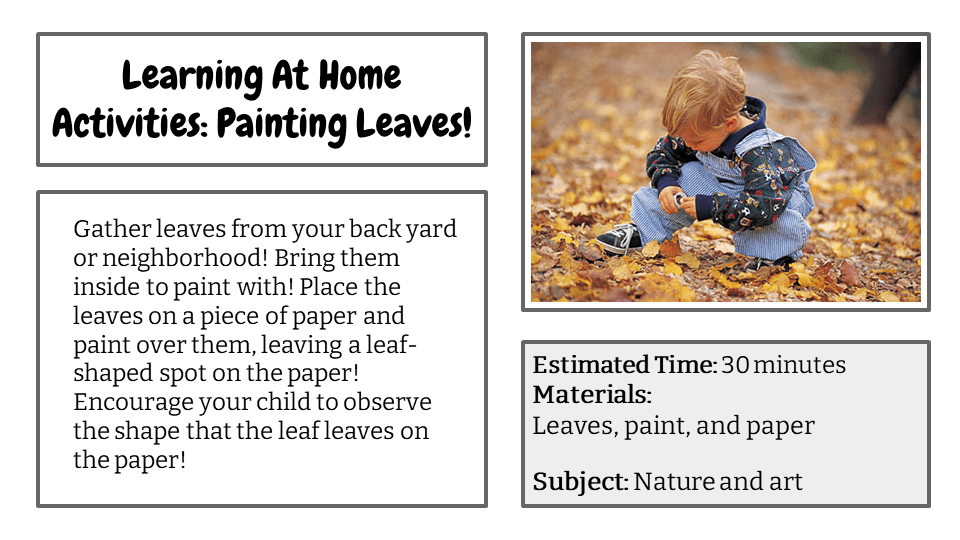 Painting Leaves!