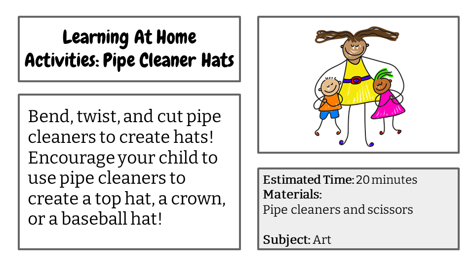 Pipe Cleaner Hats